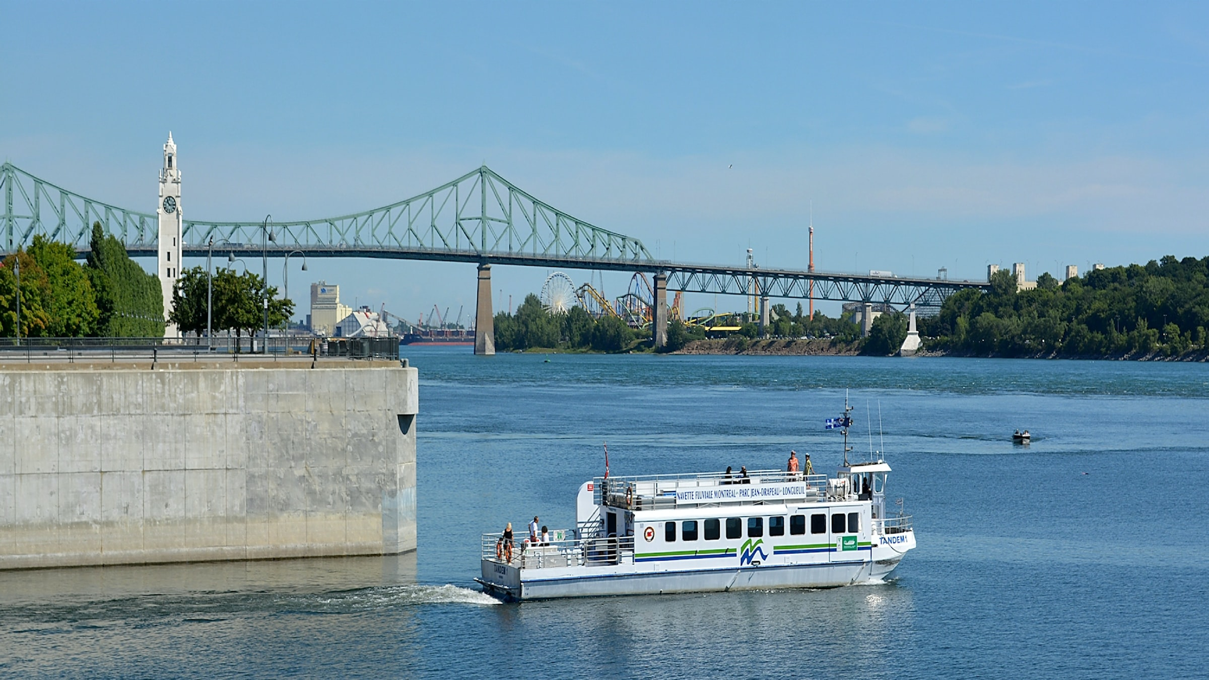 Montreal Old Port Pont Jacques Cartier